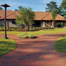 Clay Permeable Pavers